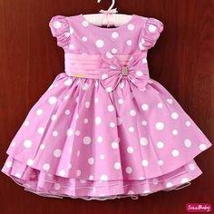 Frocks For Girls, Kids Frocks, Little Dresses, Little Girl Dresses, Girls Dresses, Toddler Dress, Toddler Outfits, Kids Outfits, Homecoming Dresses High Low