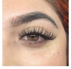 New Classic Lash Extension Set & Brow Wax #bellalash #starpil #wax #lashes