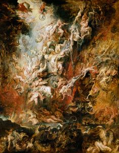 Peter Paul Rubens - The hell fall of the damned
