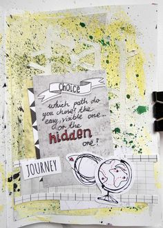 made by Marysza ► SODAlicious art journal challenge No24