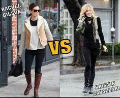 ¿Cuál de estos dos looks de famosas llevarías tu?