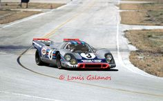 Winning Martini & Rossi Porsche 917 at Sebring 1971