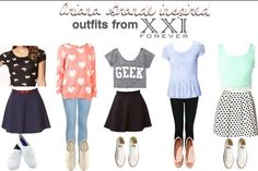 Ariana Grande inspired outfits. FOREVER 21❤