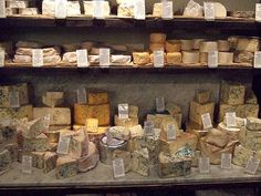 perhaps somewhere in France based on the large selection of cheeses.....