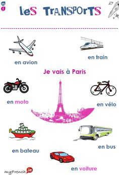 Transportation words in French