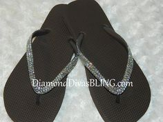 brown rhinestone sandals www.DiamondDivasBLING.com ♥ LIKE ♥ our page today! ♥ www.facebook.com/DiamondDivasBLING ♥ Rhinestone Sandals, 3 Shop, Flip Flops, Bling, Facebook, Brown, Shopping, Shoes, Fashion