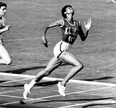 Alice Marie Coachman was a great American athlete. She specialized in high jump and was the first black woman to win an Olympic gold medal. In 2002 she was designated a Women's History Month Honoree by the National Women's History Project. Life Captions, Wilma Rudolph, American Athletes, Sister Day, Olympic Gold Medals, History Projects, High Jump, Women In History, Black History