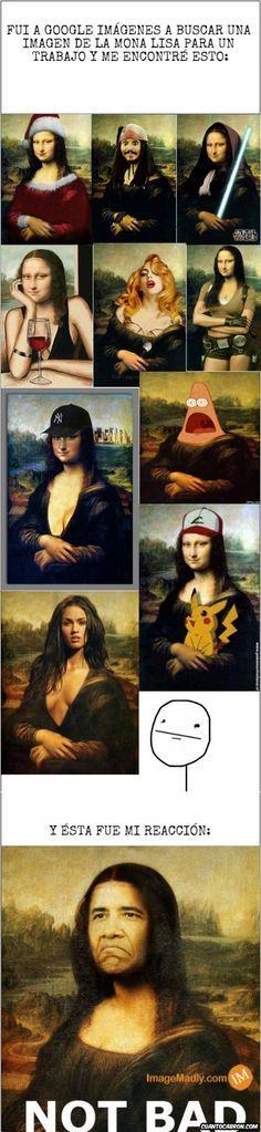 Afbeeldingsresultaat voor mona lisa humor