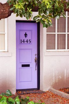 Inspired Whims: Picking Paint Colors : Brightly Painted Doors