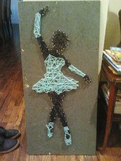Actually did a DIY. Kinda stoked. Nail yarn art project