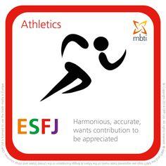ESFJ - athletics https://www.opp.com/en/Using-Type/Sports-Type-table