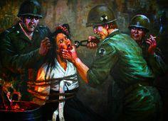 American 'war atrocities' in Korea