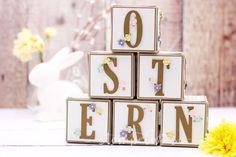 Dekoration zu Ostern oder Frühling - Blogparade Stempelwiese - Stampin' Up! - video Stampin Up Ostern, Garden Images, Engagement Ring Cuts, Easter Crafts, Easter Ideas, Stamping Up, Happy Easter, Wedding Flowers, Workshop