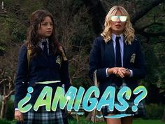 ¿Luna y Ámbar serán BFF en el Blake South College? 😏 #JAMÁS. HOY #SoyLuna 6:00PM