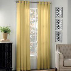 "Newport Grommet Window Curtain Panels - BedBathandBeyond.ca - 95"" panel - $39.99"
