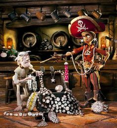 7 Best The Pirates Band Of Misfits Images Pirates Misfits Stop Motion