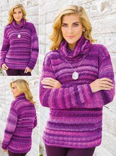 purple people eater sweater!