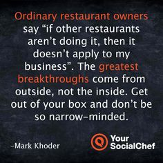 """Ordinary restaurant owners say """"if other restaurants aren't doing it, then it doesn't apply to my business."""""""