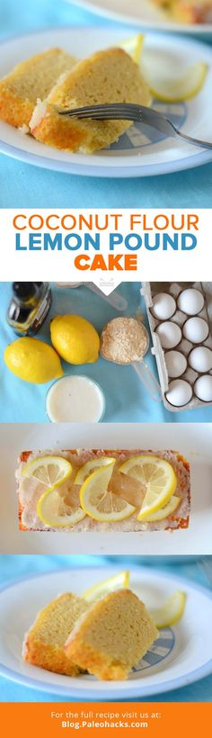 Want a luscious Paleo dessert that's a take on a beloved classic? Try this fluffy and soft lemon pound cake bursting with lemon flavor! For the full recipe visit us at: http://paleo.co/LemPCake