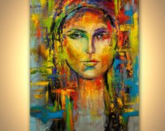 """Modern Art Poster on Photographic Paper - Shine - 48""""x36"""" - Art by Osnat"""