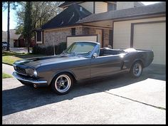 Dressed up like a Shelby... 1966 Ford Mustang Convertible 351/400 HP, 4-Speed    #MecumHouston