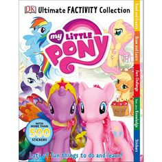 ultimate factivity collection my little pony activity book
