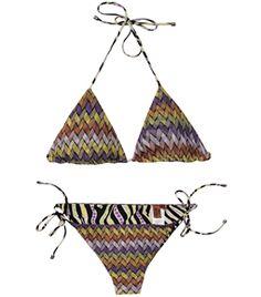 Reversible Zigzag Knit Bikini  by Missoni Mare  #Matchesfashion