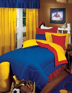 Great colors for Lego bedroom