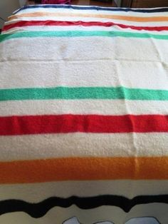 Warmbilt Minnesota Woolens Wool Blanket 1950 Era