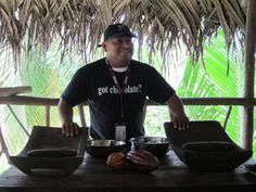 Juan from Ixcacao, Belize's only Mayan owned Chocolate Company