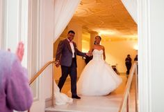 Pink and Gray Ballroom Wedding with Music Theme by Project Duo Photography: Ashley and James - Munaluchi Bridal Magazine