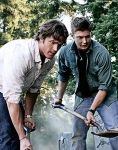 Nothing says family like Sam and Dean salting and burning bodies. #Thefamilybusiness