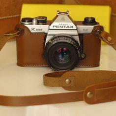 Handmade Pentax K1000 Case