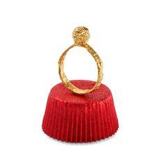 Lady Chocolate ring in 18kt gold - design Emquies-Holstein