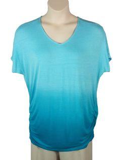 Lane Bryant white short sleeve polyester knit top size 18//20