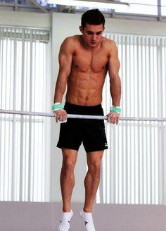 Oh, hey there, David Belyavskiy Male Gymnast, Shirtless Hunks, Model Body, Pretty Boys, Gymnastics, Sexy Men, Hot Guys, Bodybuilding, David