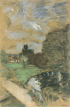 By Édouard Vuillard Ciel d'orage, 1932