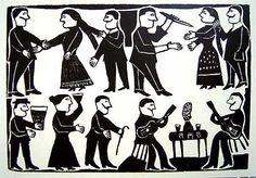 Más Lira Popular Illustration, Drawings, Lira, Ex Libris, Art, Arts Ed, Outsider Art, Folk, Naive