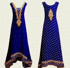 BLUE AND DESI! MY KIND OF DRESS!
