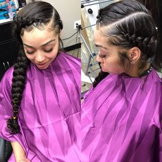 Braided Hairstyles For Long Hair Older Women Hairstyles .Older Women Hairstyles Casino Bac-A-Rat ou Two Braids Hairstyle Black Women, Short Box Braids Hairstyles, Girls Natural Hairstyles, Braided Hairstyles For Black Women, Baddie Hairstyles, African Braids Hairstyles, Older Women Hairstyles, Braids For Black Hair, Weave Hairstyles