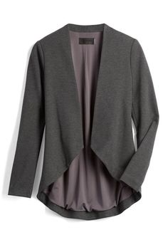 Stitch Fix - Style Shuffle: Sleek casual open blazer Stitch Fix Fall, Stitch Fix Jacket, Stitch Fix Dress, Stitch Fit, Stitch Fix Outfits, Stitch Fix Stylist, Boyfriend Shirt, Work Wardrobe, Work Fashion