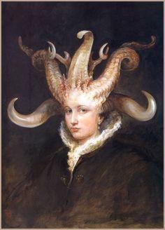 Он черпает свое вдохновение у художников Возрождения и романтиков-символистов 19-го века. Художник - иллюстратор Omar Rayyan