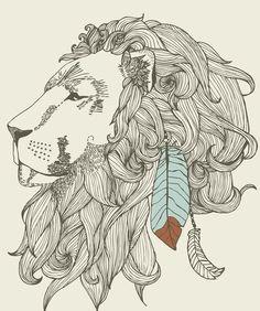 desenho leao tattoo - Pesquisa Google