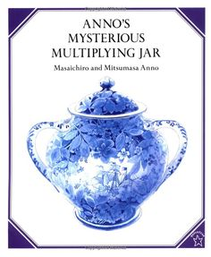 """Anno's Mysterious Multiplying Jar by Masaichiro Anno & Mitsumasa Anno: An amazing way to teach the math concept """"factorial"""" to even very young children #Books #Kids #Math"""