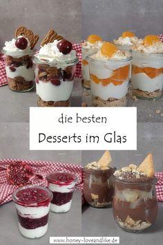Hier findest du die besten Desserts im Glas.   #Schichtdessert #DessertimGlas #Skyr #Spekulatius