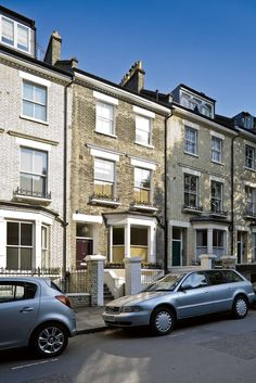 A fantastic extension and remodeling of a Victorian terrace in Primrose Hill. Modern Victorian, Victorian Terrace, London Architecture, Extensions, Building A House, Street View, Houses, Homes, Build House