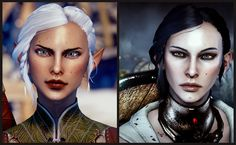 Side Braid with Bun (updated HF) at Dragon Age: Inquisition Nexus - Mods and community