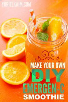 Make Your Own DIY Emegen-C Drink!