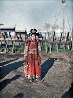 Chica mongola 1913