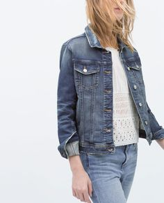 DENIM JACKET-Collection-Stock clearance-WOMAN-SALE | ZARA United States